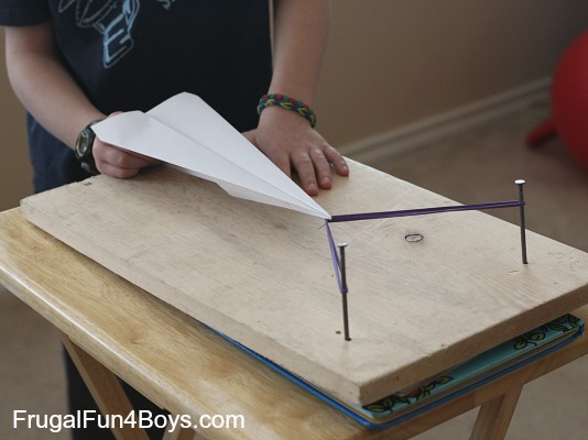 This Diy Paper Airplane Launcher Will Be Too Much Fun