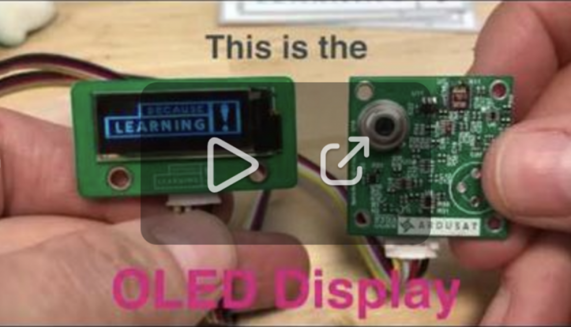 OLED display video