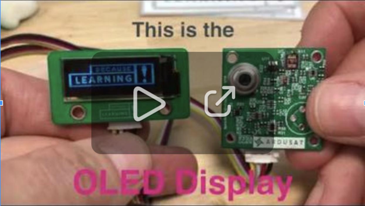 OLED display video