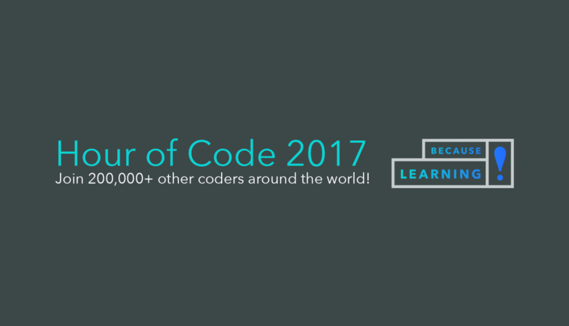 because learning hour of code 2017-2